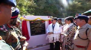 Kiren Rijiju inaugurates Orang-Kalaktang- Shergaon-Rupa-Tenga Road