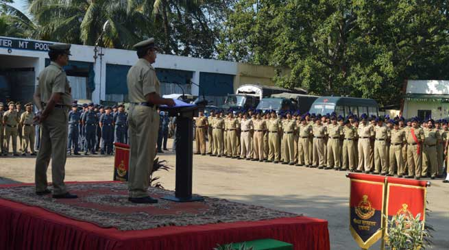 Next of Kin of BSF Martyrs Felicitated on Police Commemoration Day