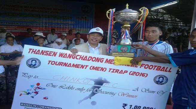 TWM Football Tournament- Chinkoi FC beat Deomali FC