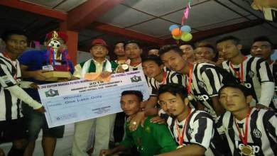 United Miao Football Club won the 2nd Wangnia Pongte Memorial Football Cup 2016