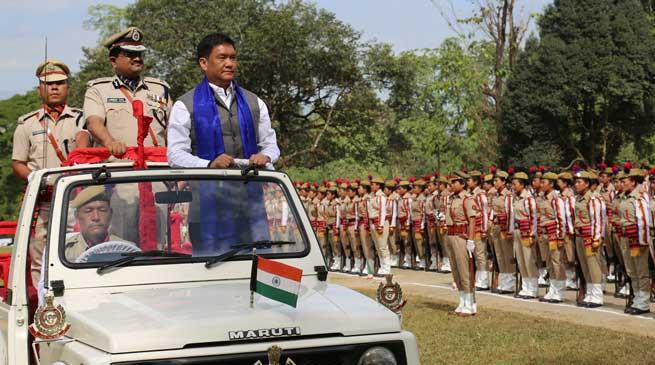 Arunachal Pradesh Police Celebrates 44th Raising Day