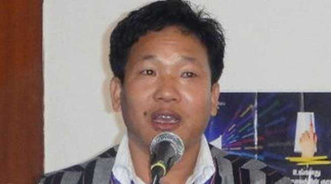 NCP Condemn Denial of visa to Bamang Tago by Chinese Embassy