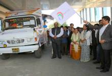 Photo of Khandu flags off Digital India Outreach Campaign Van
