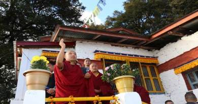 His Holiness visits Urgyelling Gompa – the birthplace of Sixth Dalai Lama