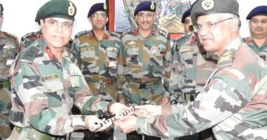 Lt Gen AS Bedi Takes Charge as New Goc Gajraj Corps