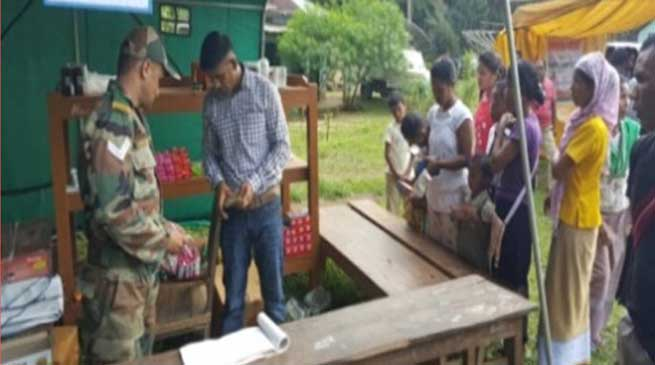 Dogra Troops Organised Medical Camp at Aradonga Village