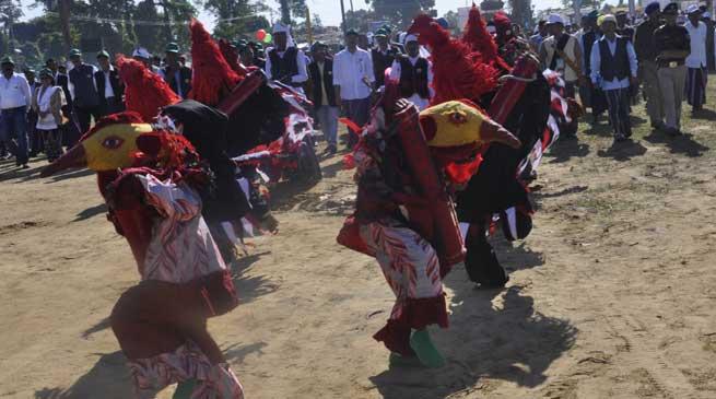 New Year Festival POI PEE MAU TAI 2111 begins at Namsai