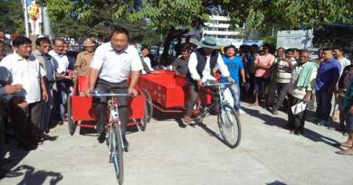 PMC Introduced Tricycles for Collection of Household Garbage
