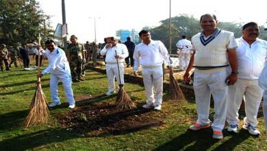 BSF Guwahati Frontier Launched Cleanliness Drive