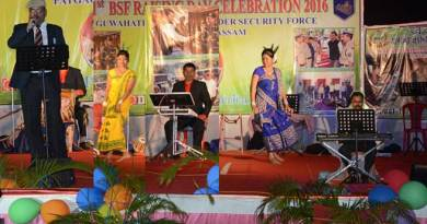Guwahati Frontier of BSF celebrated its Raising Day