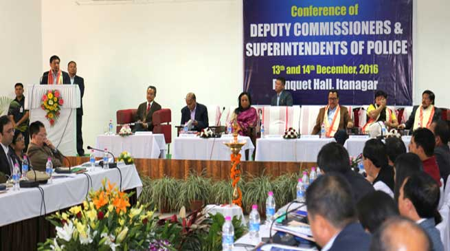 DCs and SPs to perform duties without fear of anyone- Khandu