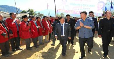 Final Notification for Siang District Head Quarter very soon - Khandu