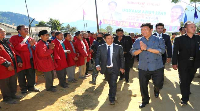 Final Notification for Siang District Head Quarter very soon - Khandu
