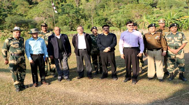 Madhukar Gupta Committee of NSCs Visits Indo-Bangladesh border