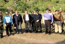 Photo of Madhukar Gupta Committee of NSCs Visits Indo-Bangladesh border