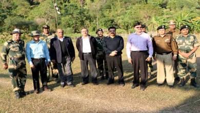 Photo of Madhukar Gupta Committee of NSCs Visits Indo-Bangladesh border