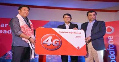 Vodaphone Launches 4G network in Itanagar