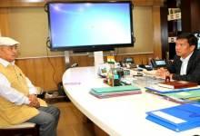 Photo of APSSC Chairman Tajom Taloh Called on CM Pema Khandu