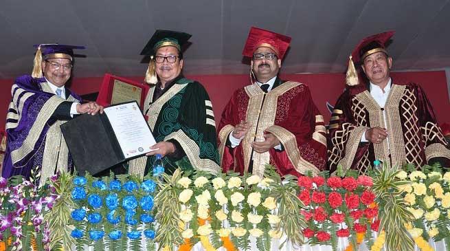 First Convocation of Arunachal University Studies held at Namsai