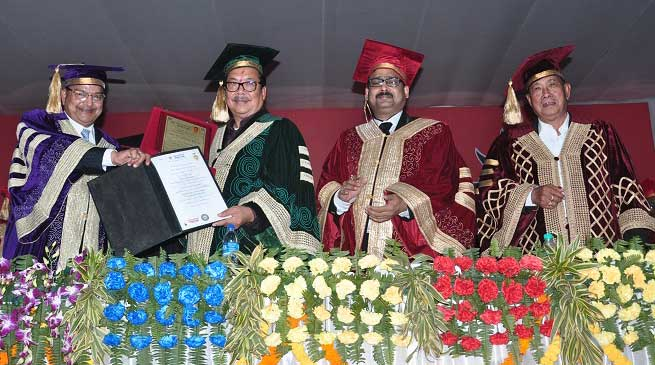 First Convocation of Arunachal University Studies held at Namsai