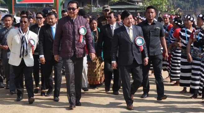 Gaon Burah Conference held at Koloriang