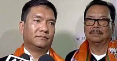 Khandu Dropped 3 Ministers, 5 Parliamentary Secretaries