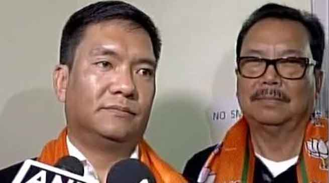 Khandu Dropped 3 Ministers, 5 Parliamentary Secretaries