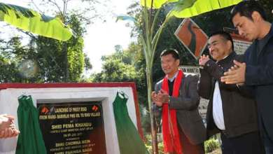 Photo of Khandu visits Baririjo, launches development projects