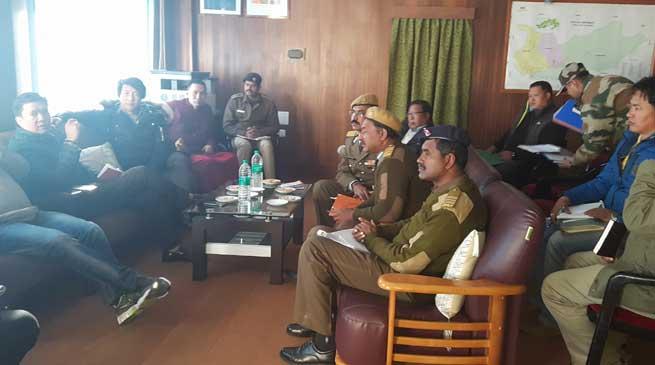 Pema Khandu took stock of the condition of the Balipara Charduar Tawang Road