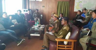 Pema Khandu took stock of the condition of the Balipara Charduar Tawang Road
