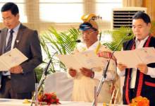 Arunachal Pradesh- Three new Minster inducted in Khandu's Cabinet