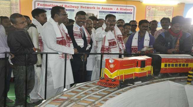 NF Railway Participated in Bhogali Bihu Sanmilani at Nagaon