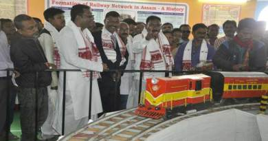 NF Railway Participated in Bhogali Bihu Sanmilani at Nagaon