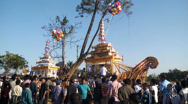 Grand chariot festival Poi-Leng concludes at Namsai