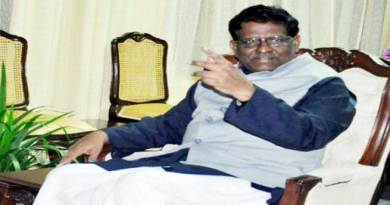 Shillong- Meghalaya Governor V Shanmuganathan has resigned