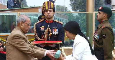 Hangpan Dada of Arunachal Honoured With Ashok Chakra