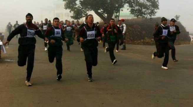 Marathon & walkathon held on 69th Army Day