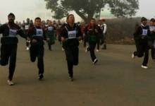 Photo of Marathon & walkathon held on 69th Army Day