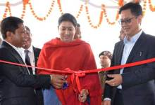 Smriti Irani Inaugurates Apparel and Garment Making Centre in Meghalaya