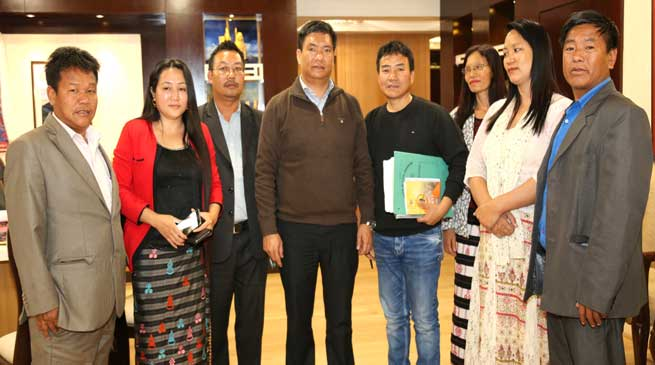 AAPWU Called on Pema Khandu
