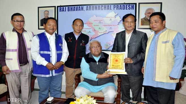 Itanagar- IFCSAP members called on Governor