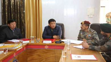 Photo of Tawang- Khandu holds review meeting with Army on land acquisition