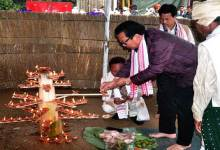 Photo of Naharlagun-Tai Ahom community celebrates Me-Dam-Me-Phi