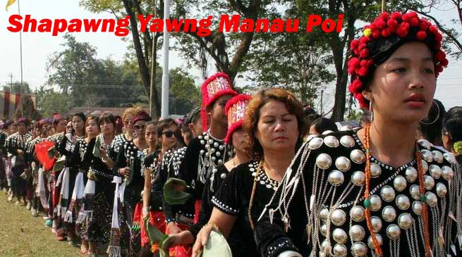 Singpho Tribes Celebrates 33rd Shapawng Yawng Manau Poi