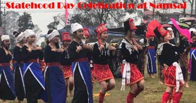 Arunachal- 31st Statehood day celebrated at Namsai