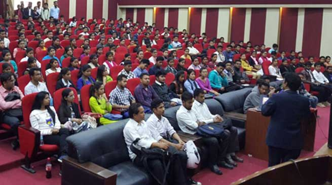 TCS organised Campus Recruitment Drive at Kaziranga University