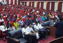Photo of TCS organised Campus Recruitment Drive at Kaziranga University