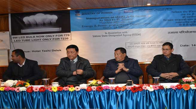 UJALA scheme launched in Sikkim