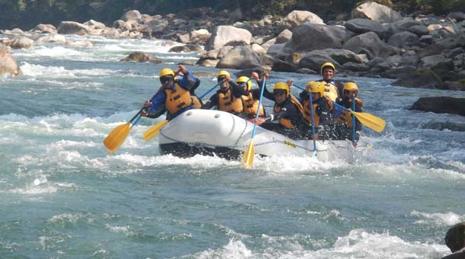 White Water Rafting Expedition by Team of Blazing Sword