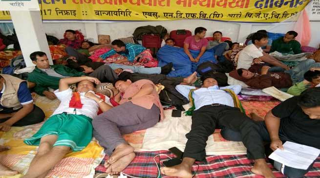 Kokrajhar- ABSU indefinite Hunger Strike entered 3rd Day